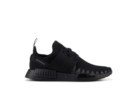 NMD R1 Primeknit Triple Black x Neighborhood