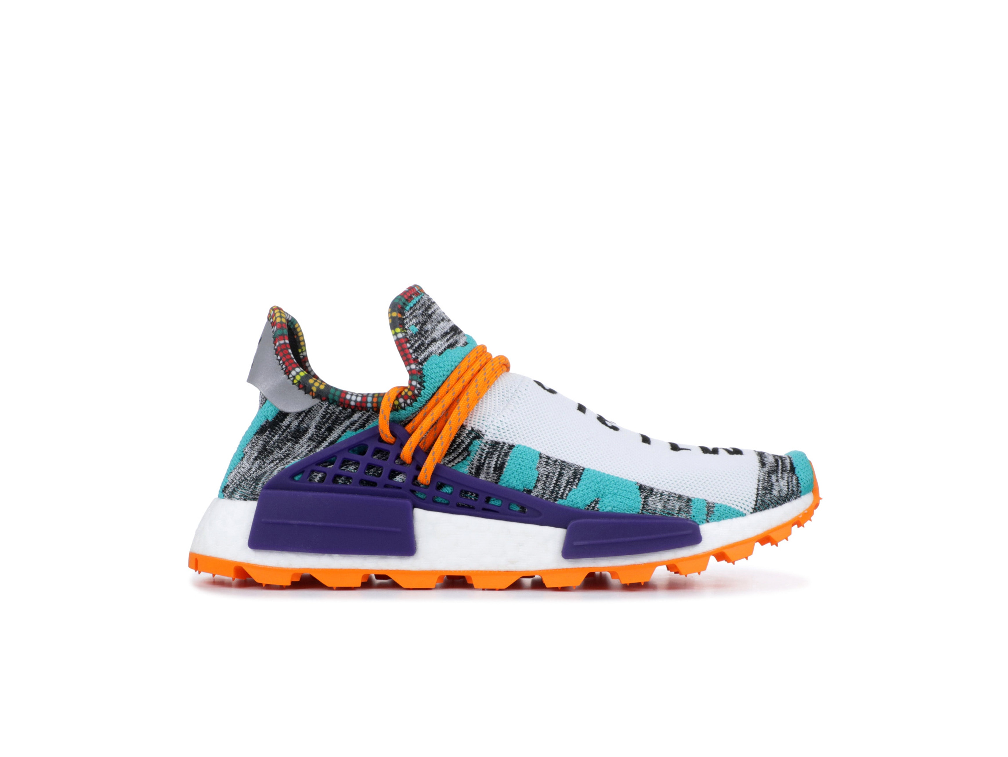 049f0604ddebf Shop NMD Human Race Trail Solar Pack Orange x Pharrell Online