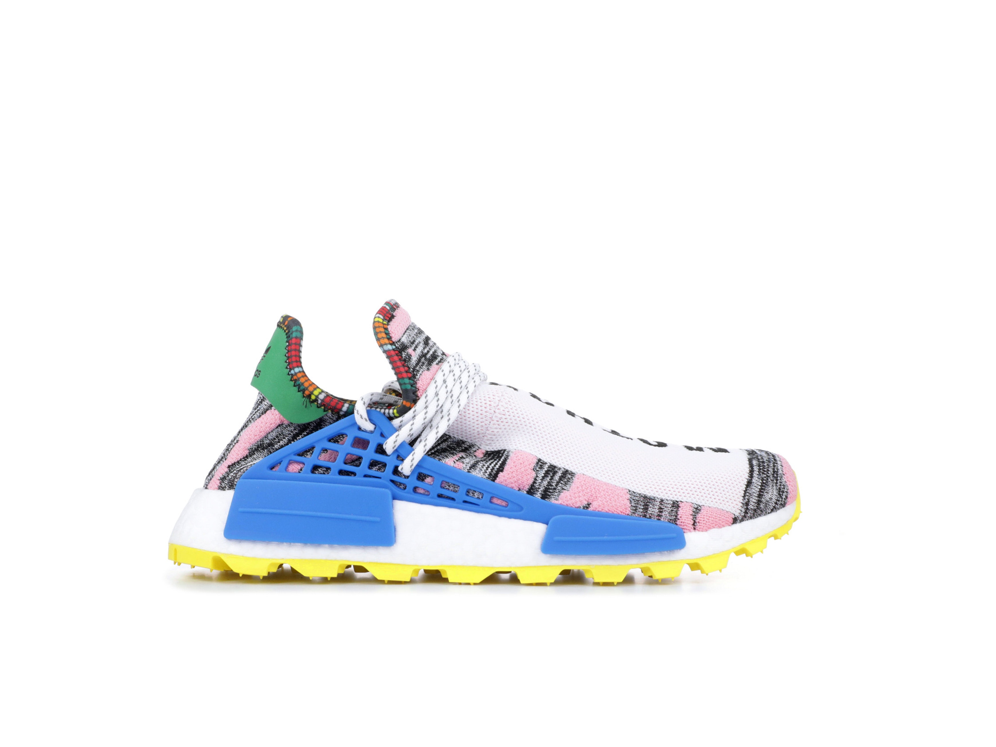 new concept 050ab f3a2a Shop NMD Human Race Trail Solar Pack Mother x Pharrell ...