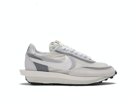 Nike LDV Waffle x Sacai White Grey