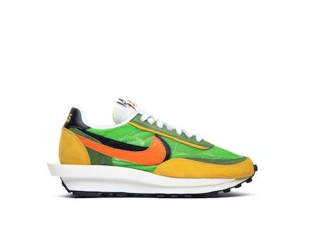 Nike LDV Waffle x Sacai Daybreak Green