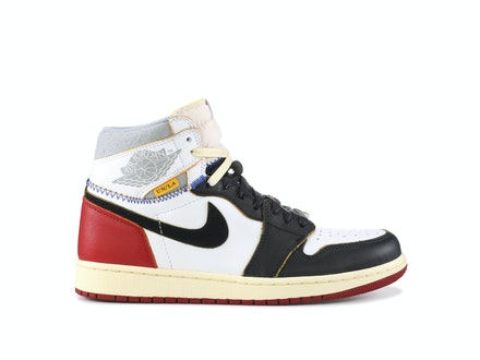 Union x Air Jordan 1 Retro Black Toe