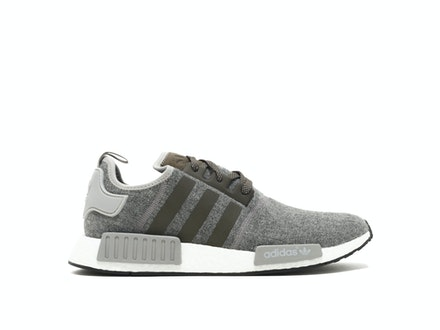 Charcoal Wool NMD R1