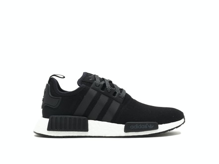 Black Wool NMD R1