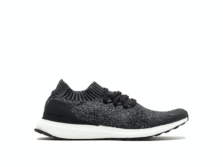 Black Grey Three UltraBoost Uncaged