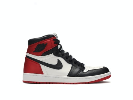 Air Jordan 1 Satin Black Toe Womens
