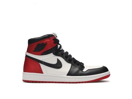 Air Jordan 1 Satin Black Toe Womens