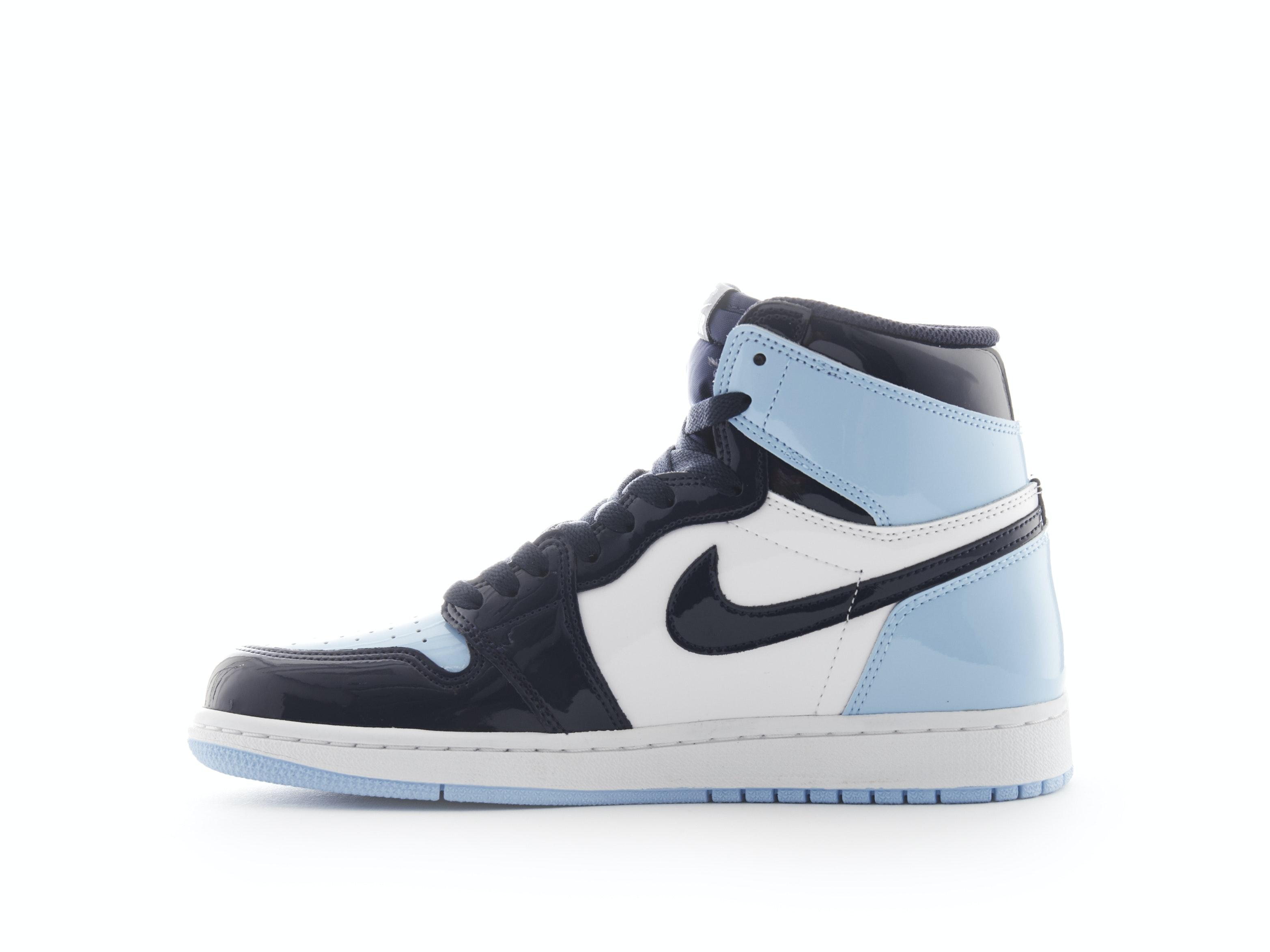meet b8e9b a1f63 Air Jordan 1 Patent Leather UNC (W)