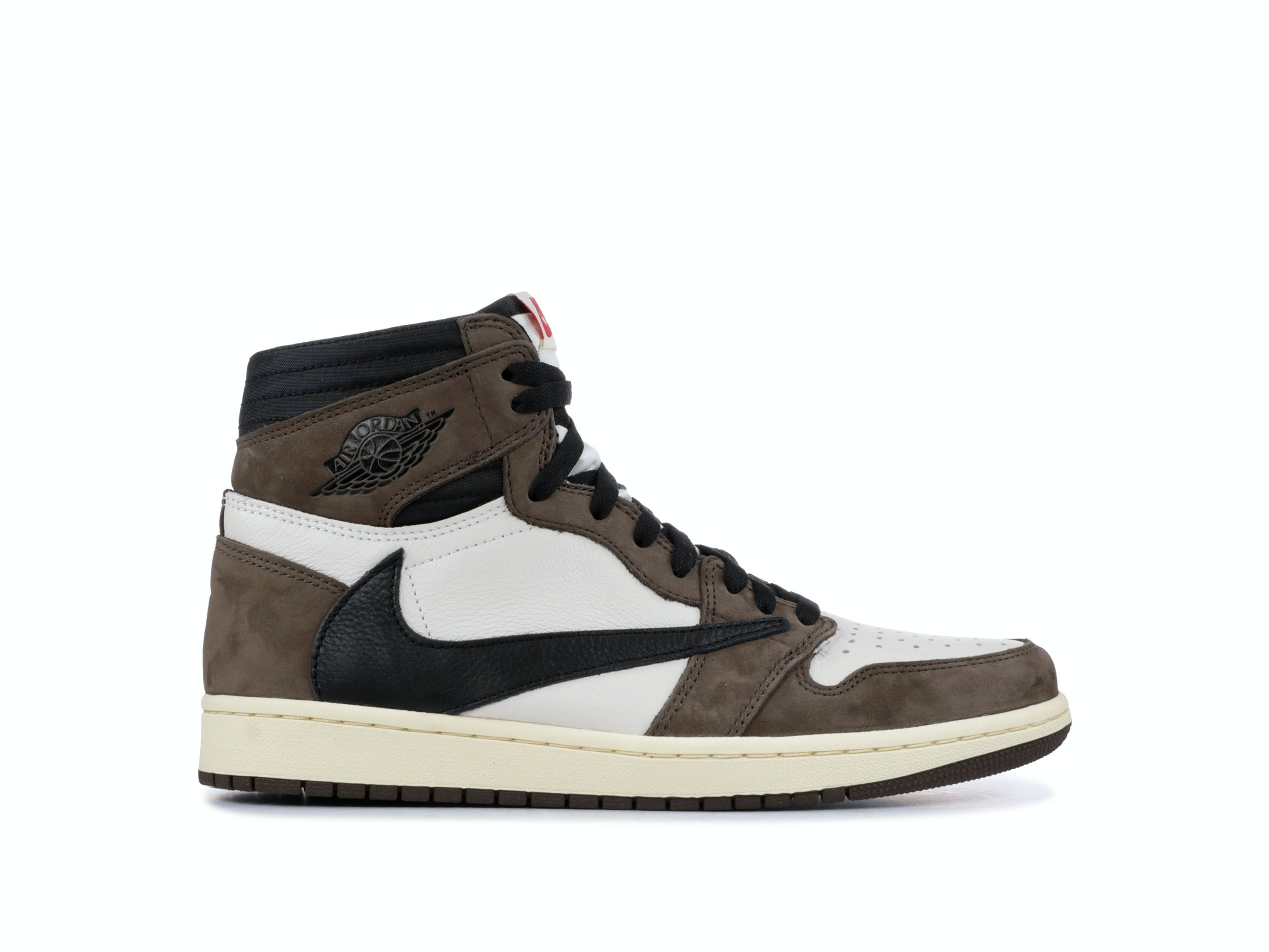 ba797d7b05b Shop Travis Scott x Air Jordan 1 Retro High OG 'Mocha' Online | Laced