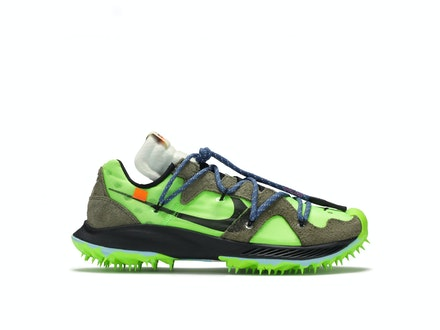 Off-White X Nike Zoom Terra Kiger 5 Electric Green