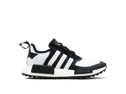Core Black Primeknit NMD R1 x White Mountaineering