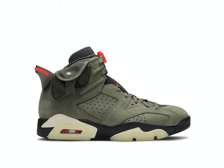 Travis Scott x Air Jordan 6 Medium Olive