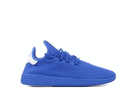 Solid Blue Tennis Hu x Pharrell (J)