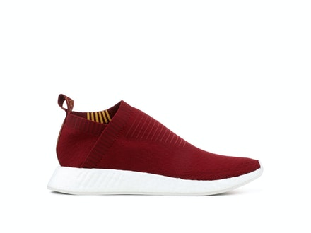 Burgundy Class of 99 Primeknit NMD CS2 x Sneakersnstuff