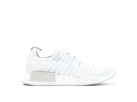 Whiteout 'The Brand with 3 Stripes' NMD R1