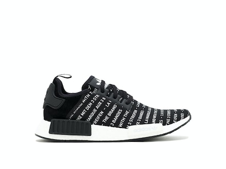 Blackout 'The Brand with 3 Stripes' NMD R1