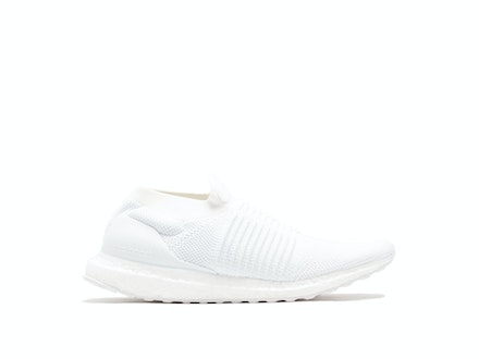 Triple White UltraBoost Laceless