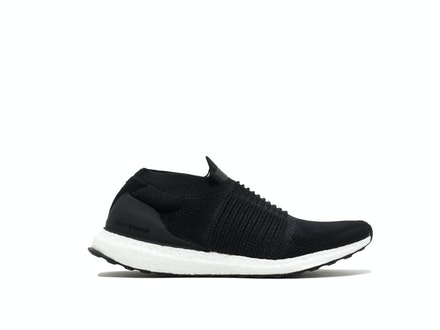 Core Black UltraBoost Laceless